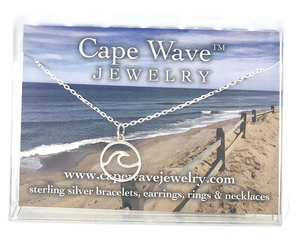 Small Cape Cod Wave Necklace