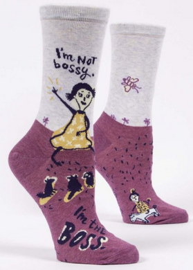 I'm Not Bossy, I'm The Boss Women's Crew Socks