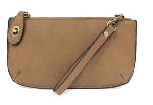 Biscotti Mini Crossbody Wristlet Clutch