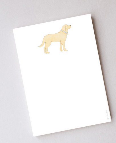 Golden Pup Notepad