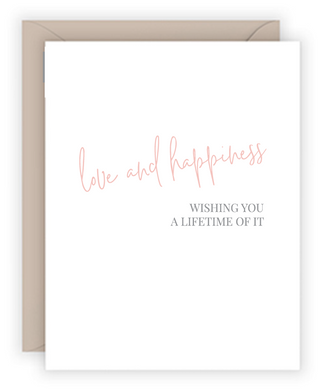 Love And Happiness Greeting Card
