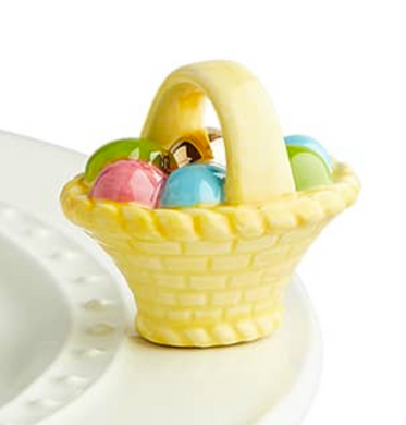A Tisket, A Tasket Easter Egg Basket Nora Fleming Attachment