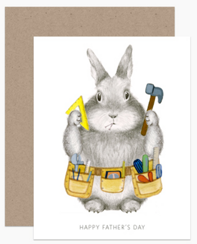 Dad Bunny Card