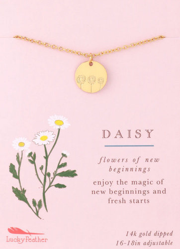 Daisy - Botanical Necklace