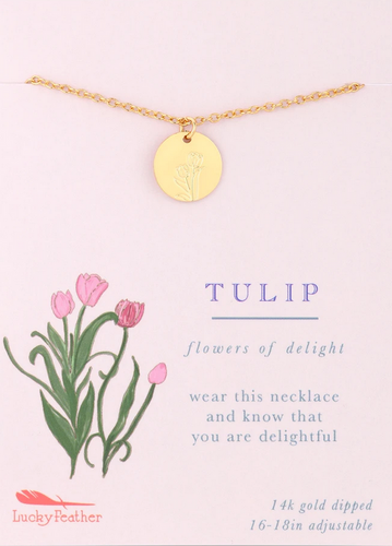 Tulip - Botanical Necklace