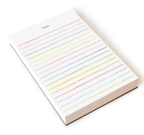 Multi Striped Notepad