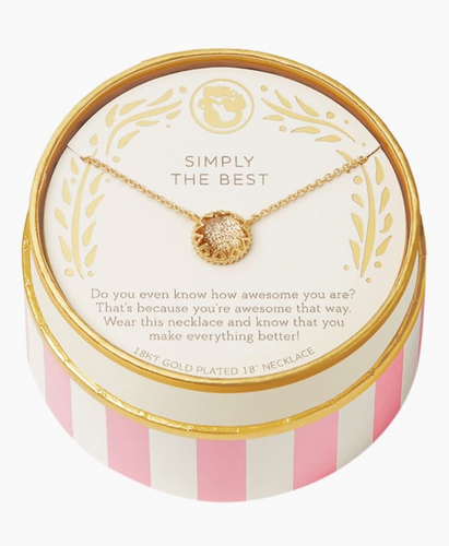 Celebrate Simply The Best Necklace