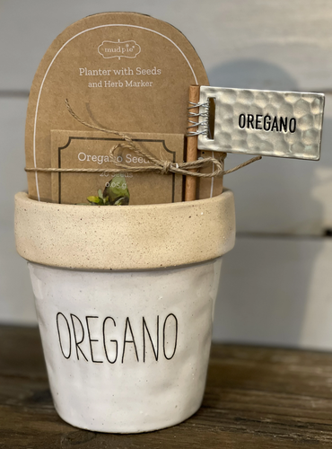Oregano Planter Set
