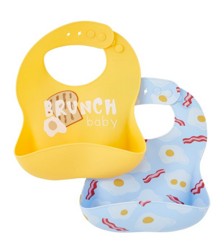 Brunch Silicone Bib Set