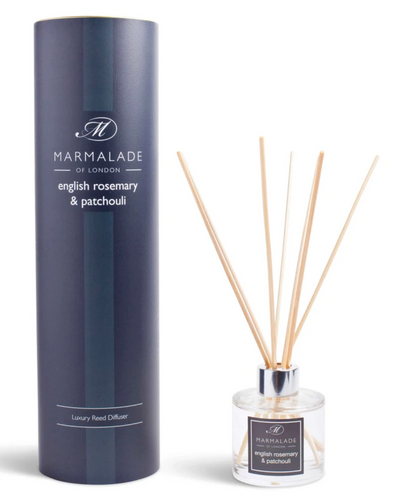 English Rosemary & Patchouli Reed Diffuser