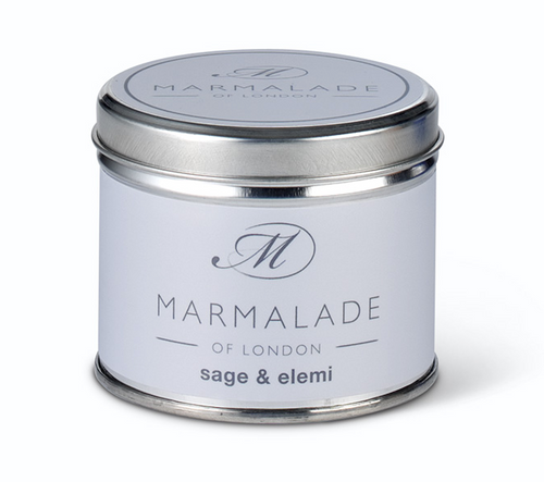 Sage & Elemi Medium Tin Candle