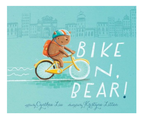 Bike On, Bear! - Children's Book