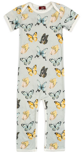 Butterfly Organic Cotton Romper