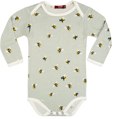 Bumblebee Bamboo Long Sleeve One Piece