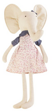 Load image into Gallery viewer, Large Elephant Doll In A Dress