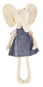 Large Elephant Doll In A Dress