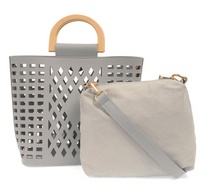 Load image into Gallery viewer, Madison Cut Out Tote