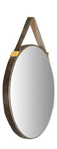 Velvet Edged Wall Mirrors w/ Hangers
