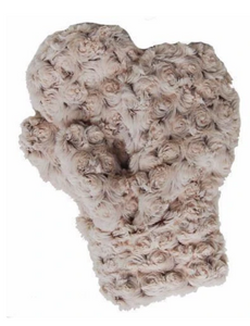Mittens - Rosebud Faux Fur - Brown or Black