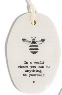 Oval Ornaments - Sweet Sayings
