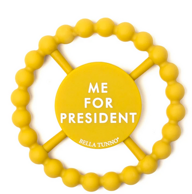 Me For President Teething Ring