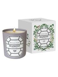DIAMOND/APRIL BIRTHSTONE CANDLE