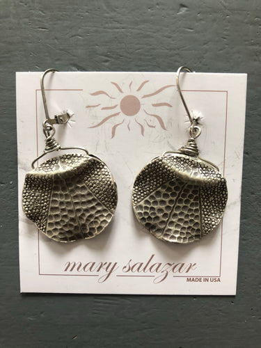 Earrings, Textured
