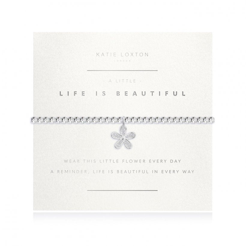 LIFE IS BEAUTIFUL BRACELET