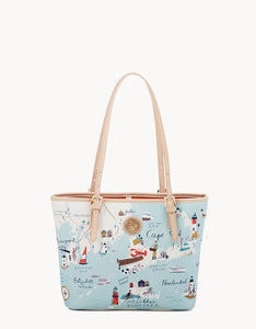 Northeastern Harbor Small Tote