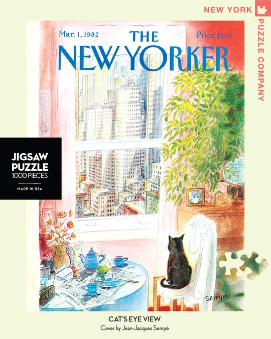 CATS EYE VIEW PUZZLE