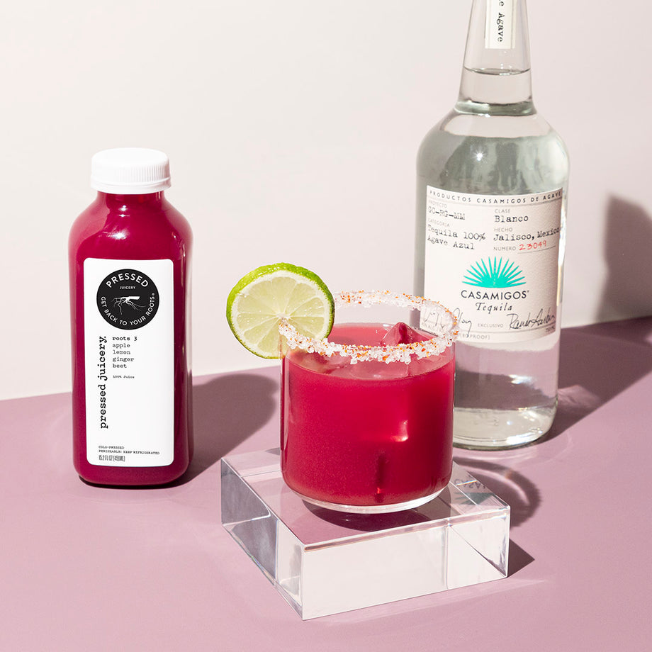 Spicy Beets: Pressed Juicery x Casamigos Cocktail