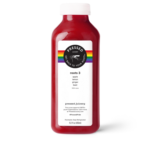 Roots 3 - Apple Beet Ginger Juice