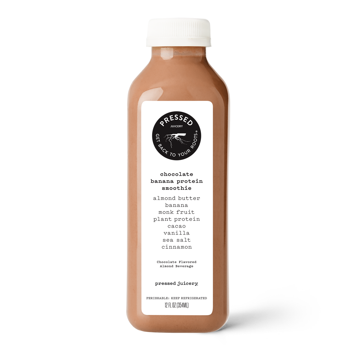 12oz Chocolate Banana Protein Smoothie product image