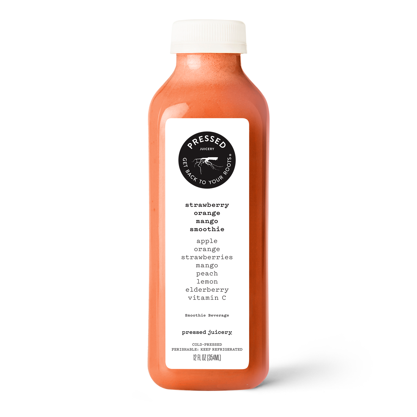 12oz Strawberry Orange Mango Smoothie product image