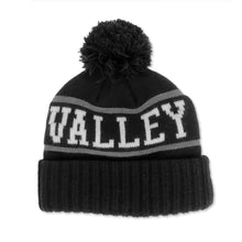 Load image into Gallery viewer, Dundas Valley Toboggan Knit Toque - Black