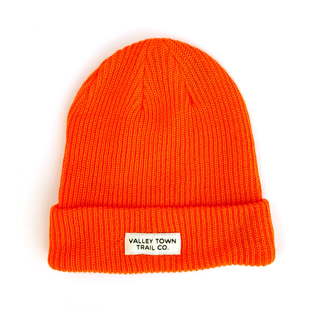 Valley Town Trail Co. Logo Beanie