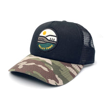 Load image into Gallery viewer, Valley Town Trucker Hat - Camo