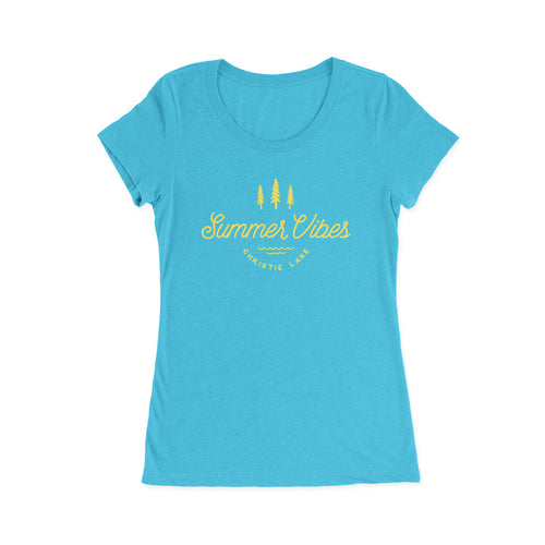 Women's Summer Vibes at Christie Lake Triblend Tee