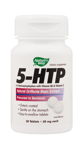 5-HTP 30tb - Nature's Way | Remedii-Online.ro
