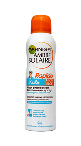 Ambre Solaire Spray Copii SPF50 150ml GAR