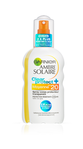 Ambre Solaire spray SPF20 200ml GAR-Remedii Online
