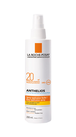 ANTHELIOS SPRAY CORP SPF 20 200ml RPO-Remedii Online