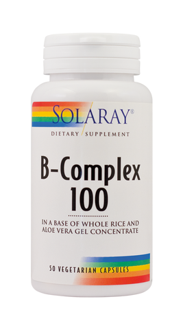 B-Complex 100mg 50cps - Remedii-Online.ro