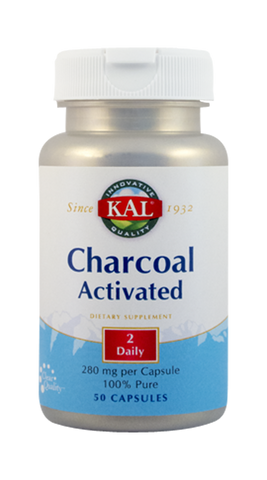 Charcoal Activated 50cps - Remedii-Online.ro