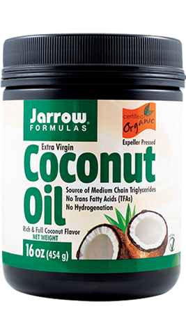 COCONUT OIL EXTRA VIRGIN 454g - Remedii-Online.ro