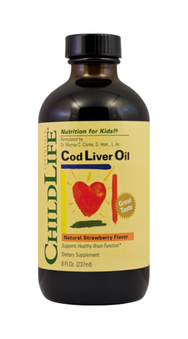 Cod Liver Oil (copii) 237ml - Remedii-Online.ro