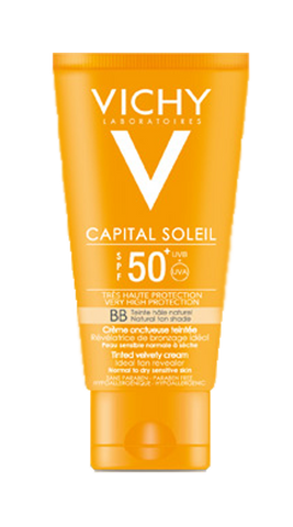 CAPITAL SOLEIL CREMA ONCTUOASA COLORATA - BB SPF50 50ml-Remedii-Online