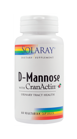 D-MANNOSE WITH CRANACTIN -Solaray | Remedii Online
