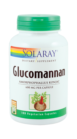 Glucomannan 600mg 100cps - Remedii-Online.ro