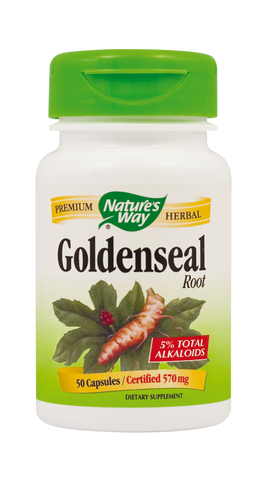 GoldenSeal Root 50cps - Remedii-Online.ro